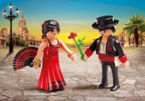 Tancerze flamenco Playmobil Duo Pack