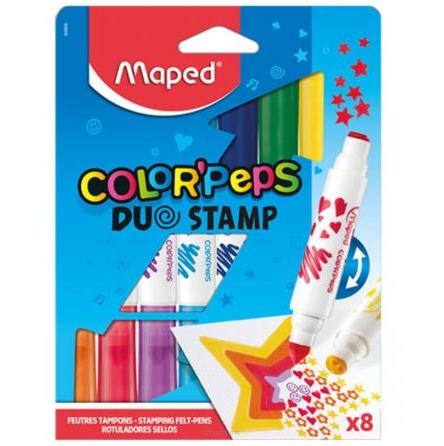 Flamastry Stemple Maped Color Peps  8 szt.