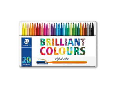 Flamastry Staedtler Brilant Colours 30 szt.