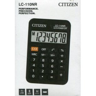 Kalkulator Citizen LC-110NR