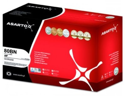TONER ASARTO 80BN BLACK DO HP LJ PRO400
