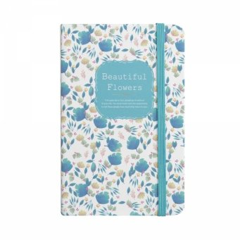 Notes A6 Zielony Beautiful Flowers Easy