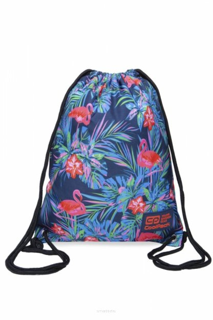 Worek na buty SPORTOWY CoolPack PINK FLAMINGO solo