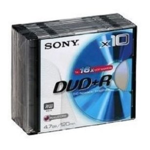 Płyta DVD+R 4.7 GB SONY Slim