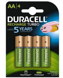 Akumulator Duracell Recharge Turbo HR-6/DX1500 AA