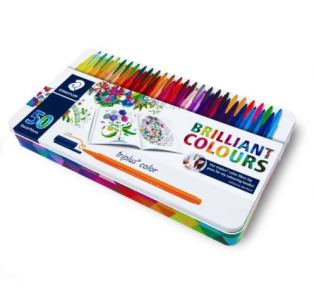 Flamastry Staedtler Brilant Colours 50 szt.