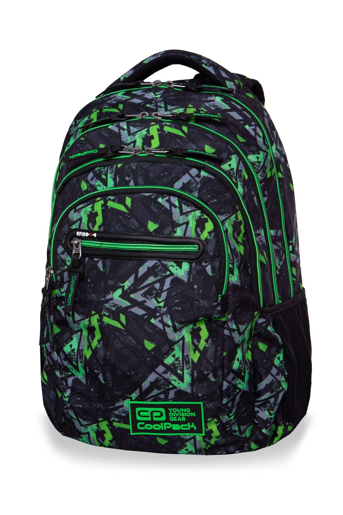 Plecak CoolPack College Electric Green B36099
