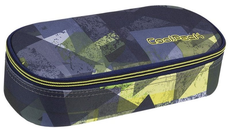 Piórnik jednokomorowy Campus Lime Abstract miejski A005 CoolPack